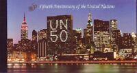 UNO NY postfrisch 1995 Markenheft  MiNr.   0-1   50 Jahre Vereinte Nationen