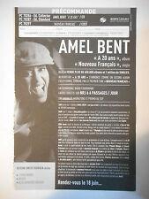 ▓ BON DE PRÉCOMMANDE SONY ▓ AMEL BENT : A 20 ANS / NOUVEAU FRANCAIS