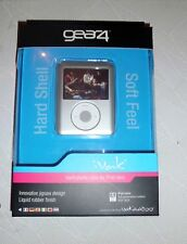 GEAR4 IVAK HARD PLASTIC CASE / COVERFOR IPOD NANO 3G PG188 GREY SHOCK RESIST