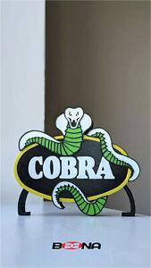 "Decorative ACTION FORCE ""COBRA"" self standing logo display"