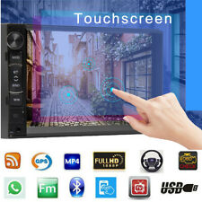 7inch Android Double 2Din Car Stereo Radio FM AM GPS NAVI Wifi Mirror Link Touch