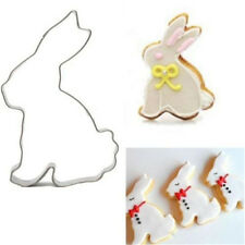 Cute Fondant Rabbit Cake Biscuit Cookie Cutter Mold Mould Baking Tool DIY Mold ♫