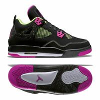 huge discount 6b1a9 4422e Nike Air Jordan 4 Retro 30TH GG grade-school Negro Fucsia 2015 Niña ...