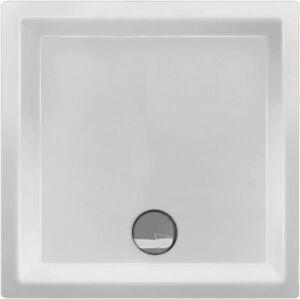 Duschwanne Serie ANO 80x80x12cm Acryl faserverstärkt i.Fachhandelsqualität weiss