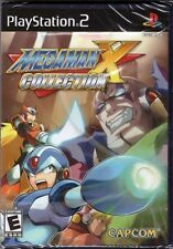 Mega Man X Collection [PlayStation 2 PS2, NTSC, Action Platformer, 7 Games] NEW