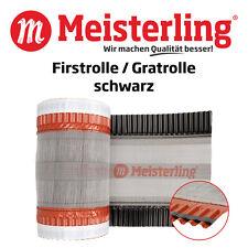 Meisterling® Firstrolle / Gratrolle Schwarz à 320 mm Breite x 5 m, Firstband