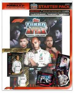 Formula 1 F1 2020 Turbo Attax Grand Prix Starter Pack Hamilton Gold Limited Card