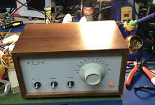 KLH Model 8 KLH 8 Radio Full Electrical Bench Checkout and Dual Sweep Alignment