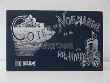 c1900 Cotes de Normandie et de Bretagne et a L'Isle de Jersey C. Tours French
