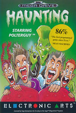 # haunting Star anillo polterguy-Sega Mega Drive/MD juego-Top #