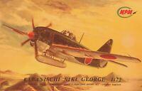Kawanischi NIKI George MPM 1/72 Scale Limied Edition Model Airplane Kit # 72123