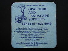 OPAL TURF AND LANDSCAPE SUPPLIES RICHMOND & GRANGE MARSDEN PARK 6275515 COASTER