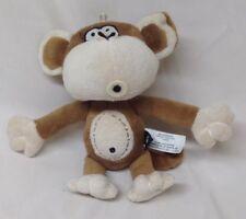 "BOBBY JACK THE CUTE MONKEY 8"" Plush STUFFED ANIMAL Toy hb5"