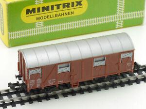 Minitrix 3239 Covered Goods Wagon Box 1965-1968 Boxed 1605-27-62