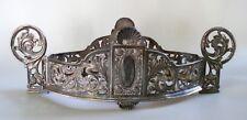 Stunning Antique Henneberg Warszawa Polad Silver Plate Center Piece Bowl