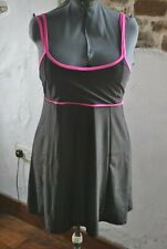Womens Plus Size Swim Dress Costume Swimsuit Skirted Swimwear Beachwear 4XL