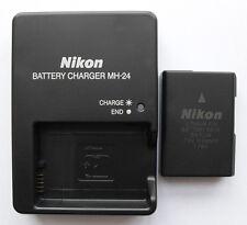 EN-EL14 Battery & MH-24 Charger For Nikon Coolpix P7000 P7100 D5000 D3100 D5100