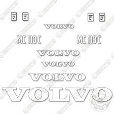 Volvo Mc 110 C Decal Kit Skid Steer Equipment Decals Mc110c