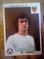 KEMPES SPANISH 1978 FOOTBALL CARD VALENCIA C.F. TEAM