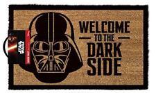 "Darth Vader Star Wars Welcome to the Dark Side Coir Door Mat Licensed 17"" x 29"""