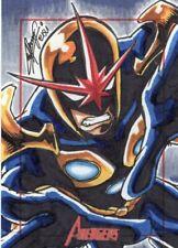Marvel Greatest Heroes 2012 - Color Sketch Card by Remy Mokhtar  -  Nova