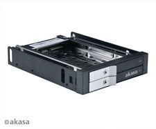 """Akasa AK-IEN-03 Lokstor M21 2 bay 2.5"""" mobile rack"""