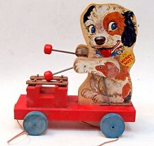 1949 Fisher Price MERRY MUTT #473 Pull Toy.  NO paper loss