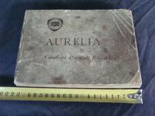 Lancia Aurelia catalogo parti di ricambio