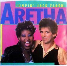 Aretha Franklin & Keith Richards - Jumpin' Jack Flash - Clear Vinyl - 1986 - New