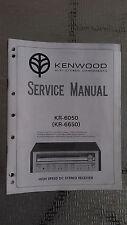 Kenwood kr-6050 6650 Service Manual original factory repair book receiver tuner