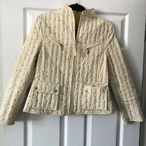 adolfo Dominguez Quilted  Jacket Uk8/10 Net A Porter Rrp £395