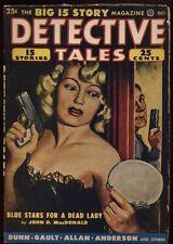 Detective Tales Pulp, 1949 October..