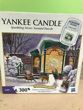 """Yankee Candle """"Sparkling Snow"""" 300 Pc Used Puzzle Made By MB."""