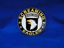 101st AIRBORNE ( SCREAMING EAGLES ) CAR GRILLE BADGE