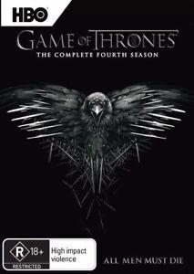 Game Of Thrones Season 4 DVD BRAND NEW  2015 SEALED 5 Disc Set