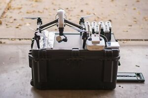 DJI Inspire 1 T600 + Batteries + Case + Osmo and Z Axis!