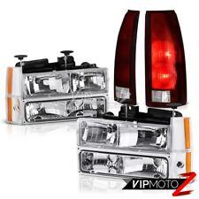 88 89 90 91 92 93 Chevy Truck Z71 Parking Brake Lights Chrome Headlights Signal