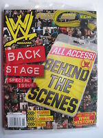 ALL ACCESS BEHIND THE SCENES 2009 WWE BACK STAGE SPECIAL ISSUE  Sealed Mint!
