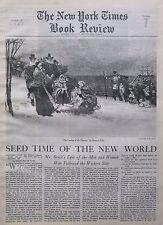 WESTERN STAR - HOWARD PYLE - LANDING OF THE PILGRIMS STEPHEN BENET June 27 1943
