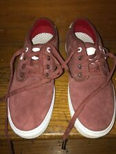 Vans X Real Skateboards Since Day One Chima Size 9.5 Red And White