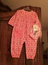 Panda Baby Coverall With Shoes Size 6-9M NWT
