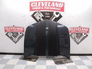 2010-2015 Chevrolet Camaro LS LT SS OEM Hood Assembly Gray DAMAGED STRIKER