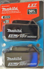 MAKITA 18V Lithium-Ion LXT Battery Pack 3.0Ah (2-Pack) BL-1830B-2  NEW!