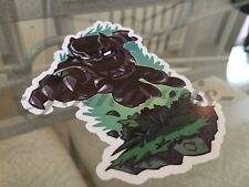 """Marvel Black Panther """"Pounce"""" Sticker Decal Sign Chibi Movie Avengers"""