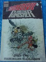 Marvel Comics Child's Play TPB 2nd Printing Daredevil Punisher Frank Miller 1988