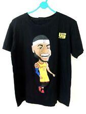 Nba L.A. Lakers 23 LeBron James Black T-Shirt *Size Medium *Eluc