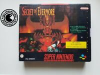 Secret of evermore bigbox super nintendo snes