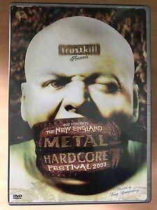 New England Metal Hardcore Festival DVD 2003 Live Trostkill Rock Concert