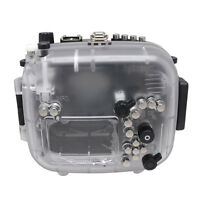 Mcoplus 40M Waterproof Underwater Camera Housing Case for Canon EOS 70D 18-135mm