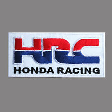 HRC HONDA RACING Motor Car Automobile Logo Jacket Embroidered Iron on Patch